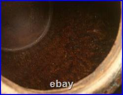 1000yr old egg pot antique chinese stoneware tang dynasty vtg jar vase pottery