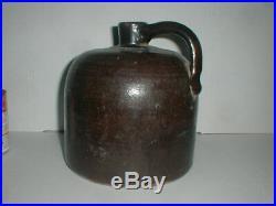 1881-1897 OREGON Pottery Co Crock Vtg Jug Antique Stoneware Portland Buena Vista