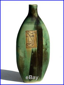 1960s by Pirjo Nylander Finland Scandinavian Pottery Vase