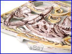 ALESSIO TASCA 50s italian pottery Adam & Eva fifties ceramic