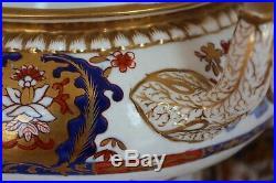 ANTIQUE 19th C. Spode Felspar Stoneware 3599 Imari pattern LARGE SOUP TUREEN