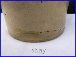 Antique 1 1/2 gal J Norton & Co Bennington VT Bird Design Stoneware Pottery Jug