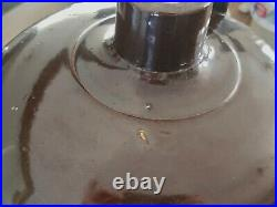 Antique 3 Gallon Western Pottery Mfg. Co Of Denver Stoneware Crock Jug Brown Dip