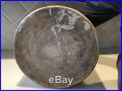 Antique 5 Gallon Lowell Pottery Co. Beehive Stoneware Jug Tonica Illinois