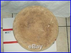Antique 8 Gallon Blue Crown Stoneware Crock Robinson Ransbottom Pottery