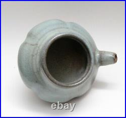Antique Chinese Jun ware Jar / Pot stoneware porcelain pottery, Yuan Dynasty