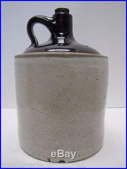 Antique John B. Monaghan's Sons Shenandoah Pa Stoneware Pottery Advertising Jug