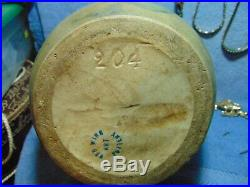 Antique Red Wing Nokomis, Ovoid Vase/Jug Pottery, 204, Rumrill stoneware, signed