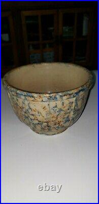 Antique Red Wing Pottery Sponge Ware Bowl # 6 Stone Ware (More large and small)