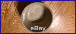Antique Spongeware Red Wing Pottery Stoneware Paneled 5 Bowl Redwing