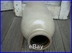 Antique Stoneware COWDEN & WILCOX Oyster Jar Crock Vessel Pottery