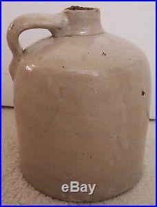 Antique Stoneware Crock Pottery Kentucky Whiskey Jug
