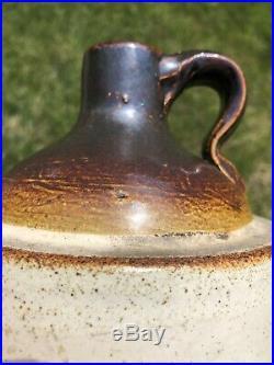 Antique Stoneware Pottery Advertising Jug Blue Island, IL. Pre-Prohibition