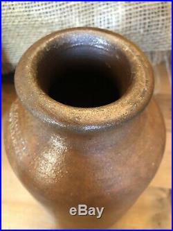 Antique Stoneware Pottery Crock Jar Jug H H Zigler Newville Pa AAFA