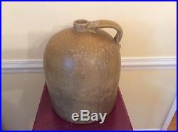 Antique Stoneware Whiskey Jug circa late 19th Century Bardstown, KY Estate