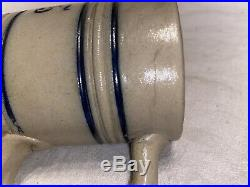 Antique Strohs Beer Stoneware Mug Stein Detroit Michigan Whites Pottery Utica