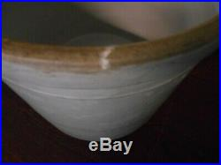 Antique Vintage 4 Gal Crock Early 20th Century Western Stoneware Monmouth ILL
