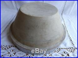 Beautiful Large French Antique Stoneware Glazed Bowl