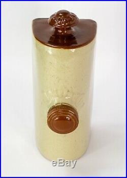 Bourne Denby England Antique Stoneware Hot Water Muff Foot Warmer