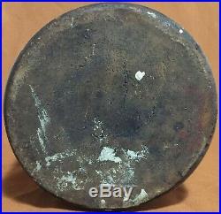 Corish 1 gallon stoneware script jug Newark NJ N. J. New Jersey Essex County