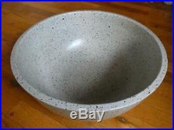 DAVID CRESSEY Architectual Pottery-Glazed Stoneware-Mid Century 14-3/4 Bowl