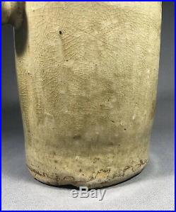 Early Stoneware Pottery Foot Warmer Poss Southern American