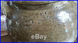 Edgefield Pottery David Drake Dave attributed Southern Stoneware Slave made