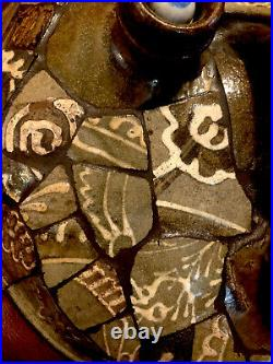 Edgefield Pottery South Carolina Antique Stoneware FOLK ARTSHARDS Art Mid1800s
