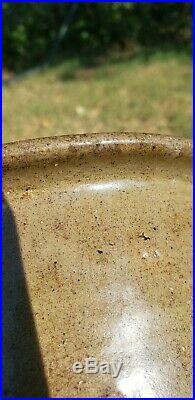 Edgefield Pottery Stoneware Cream Riser Primitive South Carolina As Is