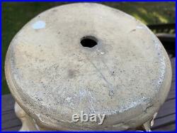 Evans Pottery Dexter Missouri Vintage Textured Planter Flower Pot Stoneware