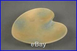 Gunnar NYLUND AXA Ceramic Heart Bowl Rörstrand Sweden Danish Modern 50s 60s