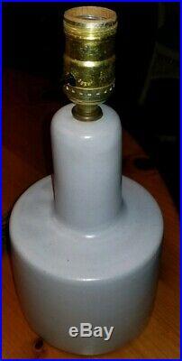 Jane&Gordon MartzMid-CenturyModern stoneware pottery lamp1950-1960EXCELLENT