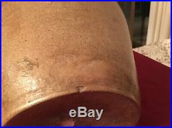 Large Antique Stoneware Pottery Jug PH Smith Ovide