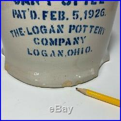 Logan Pottery Company Can't Spill Stoneware Chicken Waterer Logan Ohio