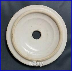 Love Field Potteries 4 Gallon Crock Butter Churn Lid & Dasher Dallas, Texas