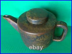 MCM Danish Modern Stoneware Pottery Designer Teapot Per Lutken L Hjorth DENMARK