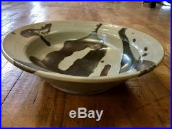 Midcentury MARK ZAMANTAKIS Colorado Studio Modern Pottery Bowl large