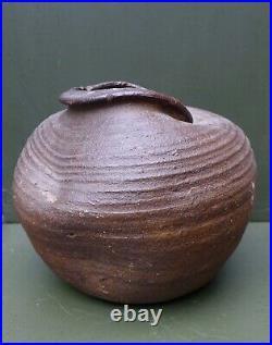 Nice quality 13th Century Germany Siegburg stoneware storage pot, early Gothic