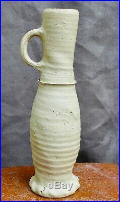Nice quality 15th Century German Siegburg stoneware Jacoba jug found in Utrecht