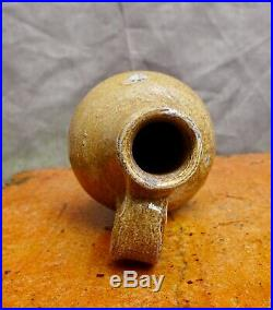 Nice quality 17th Century German Rearen stoneware oil jug found in Amsterdam