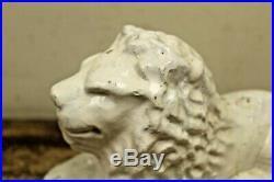 RARE Hawthorn Pottery End of the Day Stoneware Lion- New Bethlehem, PA Crock Jug