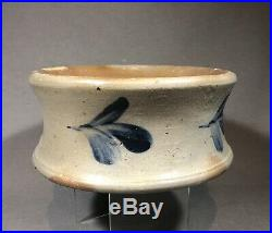 Rare 19th Century Baltimore Stoneware Spittoon Cuspidor