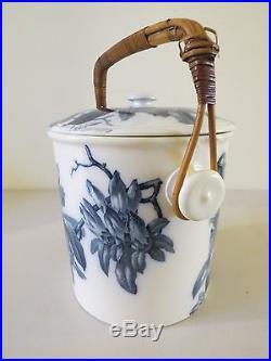 Rare Antique 1800s Bwm&c Brown Westhead Moore English Large Stoneware Crock Pot