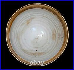 Rare Heller 1974 Mod Vint Huge Bas-relief Fig Dec Stoneware Ceramic Face Bowl