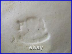 Rare Pierrefonds Pottery Art Nouveau Fish and Oyster Dish early 1900's Stoneware