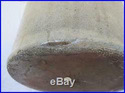 Rare Primitive Bee Sting Stoneware Salt Glazed Crock Jug Red Wing 3 Gallon