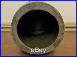 SCARCE 19th C S H SONNER STRASBURG VA Cobalt BLUE DECORATED Stoneware Crock Jar