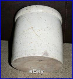 San Antonio Texas 2 Gallon Pottery Stoneware Crock Tex TX Cobalt Stencil Stamp