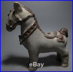 Sculpture Thai Pottery'horse Figure Sawankhalok' Stoneware Relic