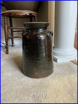 South Carolina Pottery 2 Gallon Signed Robert Boyle Stoneware